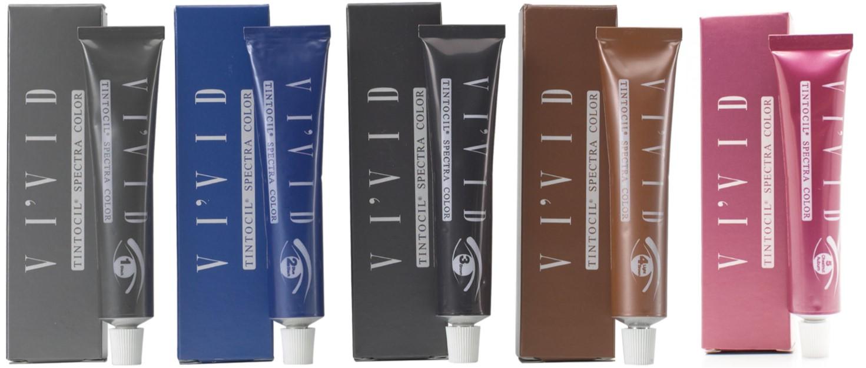 Eyebrow Tintocil Vivid Cream Dye Brow Tint * Ammonia Free * Choose ...